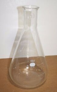 Pyrex Glass 4000ml Erlenmeyer Filter Flask 5340 Chip