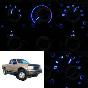 Blue Climate Control Ac Heater Temperature Knob Led Light Bulb For 95 00 Tacoma