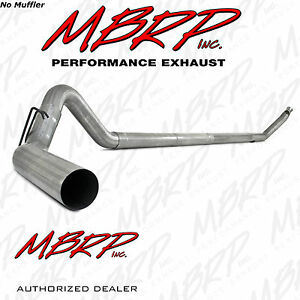 Mbrp 4 Turbo Back Exhaust Fits 1994 2002 Dodge Cummins 5 9l Diesel No Muffler