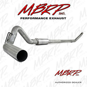 Mbrp S6100p 4 Turbo Back Exhaust 94 02 Dodge 2500 3500 5 9l Diesel With Muffler
