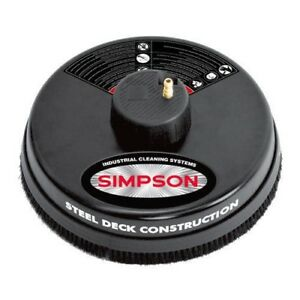 Simpson 80166 15 3 600 Psi Surface Cleaner With Quick Connect Plug