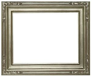 9 X 12 Arts Crafts Style Picture Frame Hand Applied Silver Leaf Beauty