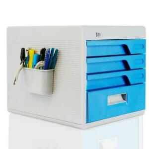 Security File Cabinet Multi drawer Filing Cabinet With Combination Lock 4 drawer