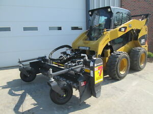 Paladin Harley 84 Skid Steer Loader Hydraulic Angle Power Box Rake Attachment