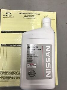 Nissan Matic S Fluid Automatic Transmission Fluid 999mp mts00p 5 Quarts