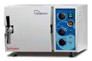 Tuttnauer Valueklave Manual Sterilizer 1730 New With 1 Year Warranty