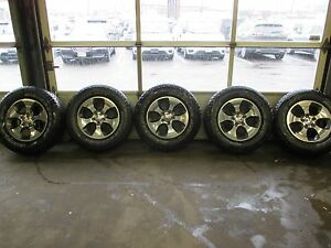 2014 2017 Oem Jeep Wrangler Wheels And Tires 6af491auaa