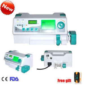 Syringe Pump Injector Pump Drug Library Visual Alarm For Veterinary