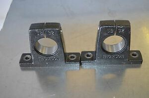 New Thomson Shaft Support Block Sb32 two Each