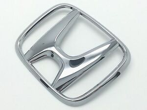 Genuine Honda Oem 75700ta0a00 Front H Chrome Emblem For Accord Crv Fit Hrv