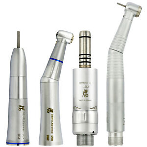 Kavo Type Dental Inner Water Contra Angle Low Speed Kit Led Handpiece Set 2holes