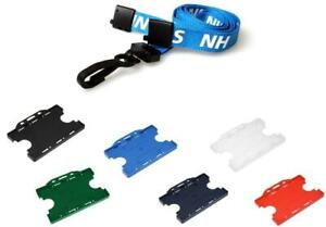 Nhs Lanyard Neck Strap With Breakaway Two Sided Id Card Badge Holder Free P p