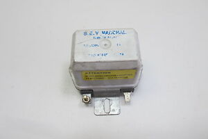 Sev Marchal Alternator Voltage Regulator 14 V 72711502