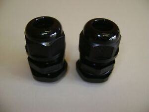 10 1 4 Npt Strain Relief Cord Cable Glands With Seals And Nuts Npt 1 4