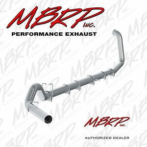 Mbrp S61160p 5 Turbo Back Exhaust 04 07 Dodge Ram 2500 3500 5 9l With Muffler