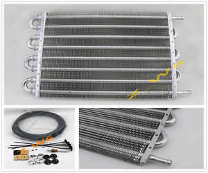 Universal 8 Row Car Truck Trans Aluminum Engine Transmission Racing Oil Cooler