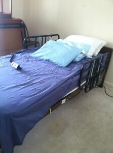 Semi electric Homecare Bed From Medline