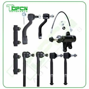 9pcs For 1993 1998 99 Chevrolet C1500 C2500 C3500 Tie Rod Ends Pitman Idler Arm