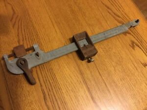 Vintage Detecto 100 Pound Scale Beam 20 1 2 Inches Long Parts Or Display