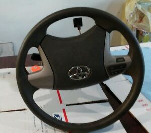 2011 Toyota Camry Le Steering Wheel Module Trim W Key And Signal Sticks