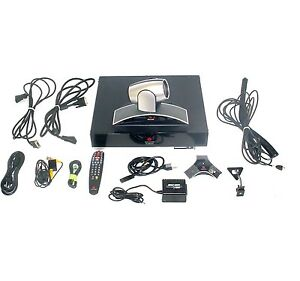 Polycom Hdx 9002 Hd Eagle Eye Ntsc Complete Video Conferencing System