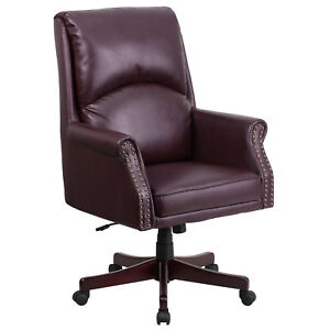 burgundy leather chair mcs industrial solutions and online