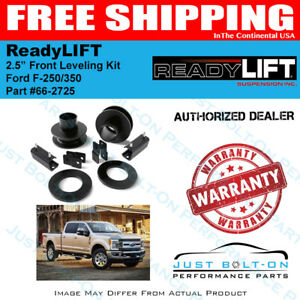 Readylift Front 2 5 Leveling Kit 2017 2018 Ford Super Duty F 250 F 350 66 2725