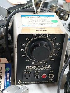 Superior Electric Powerstat Model L21c Variable Autotransformer