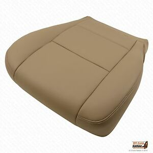 Driver Bottom Synthetic Leather Seat Cover Color Tan For 2001 Toyota Sequoia
