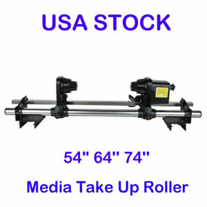 Roland Sp300 rs640 fj740 Mutoh 1614 1604 Epson Automatic Media Take Up Reel 110v