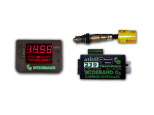 Techedge 2j Wideband O2 Controller Display Kit Gauge Innovate Aem