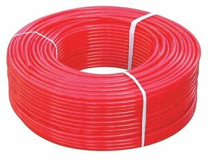 1 X 100ft Red Pex Tubing pipe Pex b 1 inch 100 Ft Potable Water Non Barrier