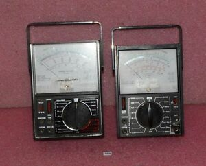 2x Micronta Multimeter Lot_1x Range Doubler 22 204_1x 2 Jewels 22 203c
