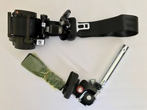 Sonata 15 16 17 Passenger Black Seat Belt Retractor With Tensioner Oem 2parts