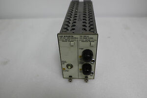 Hp agilent 83487a Optical electrical Plug in Module