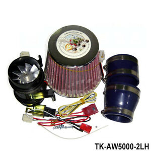 Quality Supercharger Kit Electrical Turbo Charge 330w Iron Fan