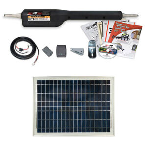 Mighty Mule Mm360 20 Watt Solar Package Medium Duty Single Gate Opener