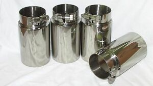 Bmw E46 M3 Oversized 3 Exhaust Tip Set Of 4 304 Stainless