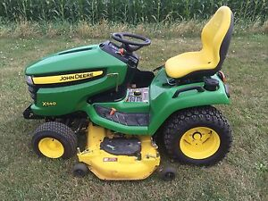 Jd Lawntractor 540 54 power Lift Deck Also 4 Snow Blade Power Lift