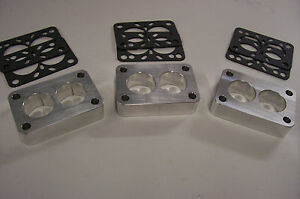 For Tri Power Stromberg Ww Carb Spacer Small Rochester 2g Carter Holley Riser 1