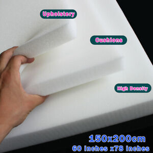 Foam Rubber Slab High Density Foam Upholstery Foam Seat Cushion Size 60 x80