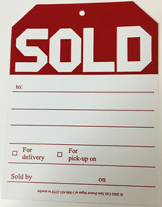 Sold Tags Lot Of 300