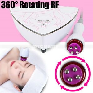 5mhz Rotating Rf Radio Frequency Rotating Skin Facial Eye Wrinkle Beauty Machine