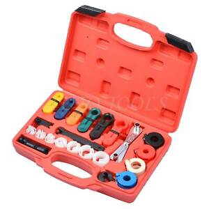 21 Pcs Fuel Air Conditioning Disconnection Tool Kit Auto Repair Tools