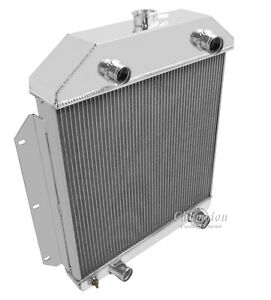 Eagle Racing 3 Row Radiator For 1949 1950 1951 1952 1953 Ford Cars W Flathead