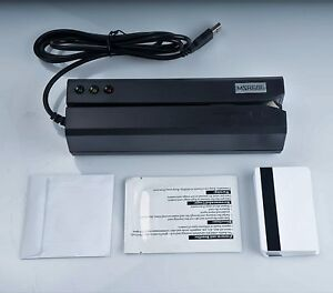 Msr606 Updated Magnetic Stripe Swipe Card Reader Writer Encoder Hi co 3track Usb