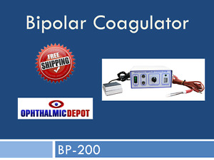 Bipolar Coagulator Model Bp 200 New