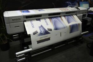 Epson F7170 Dye Sub Wide Format Printer 64 used Excellent Condition