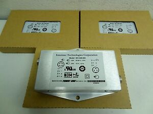 Lot Of 3 Intermec Technologies 851 040 002 Power Converters Sdc105g A Brand New