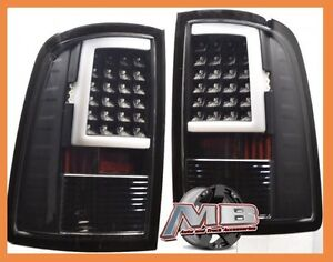 Black Clear 2009 2017 1500 2010 2017 2500 3500 Dodge Ram Led Tail Lights Lamps